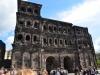 Die Porta Nigra in Trier beim Stadtspiel