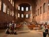 Die Konstantin Basilika in Trier nach dem Lagergottesdienst