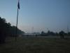Nebel über dem Unterlager der Hethiter und Älteren am Abend des letzten Tages