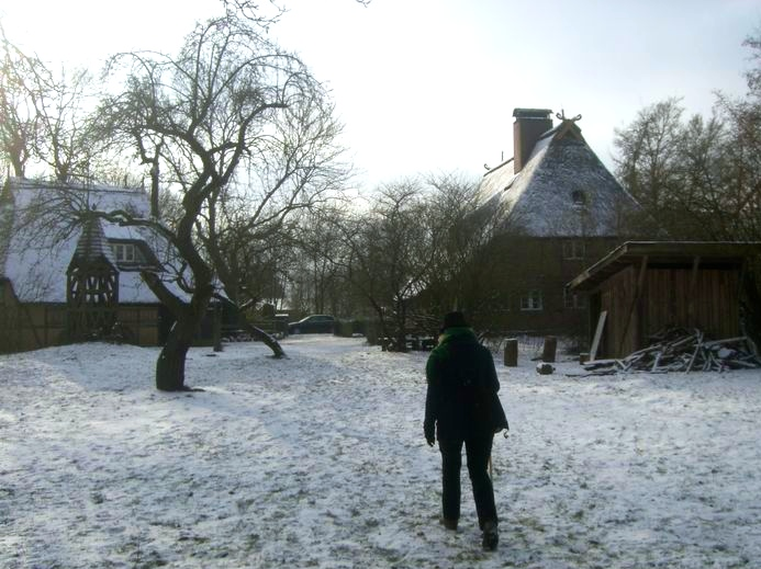 Schnee auf dem Tyrker Hof